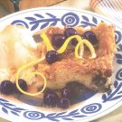 Bluerry Streusel Cobbler recipe card