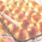 Perfectly Easy Dinner Rolls recipe card