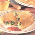 Cheesy Broccoli Pockets recipe card