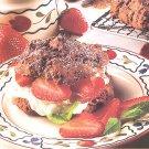 Chocolate Berry Shortcake recipe card