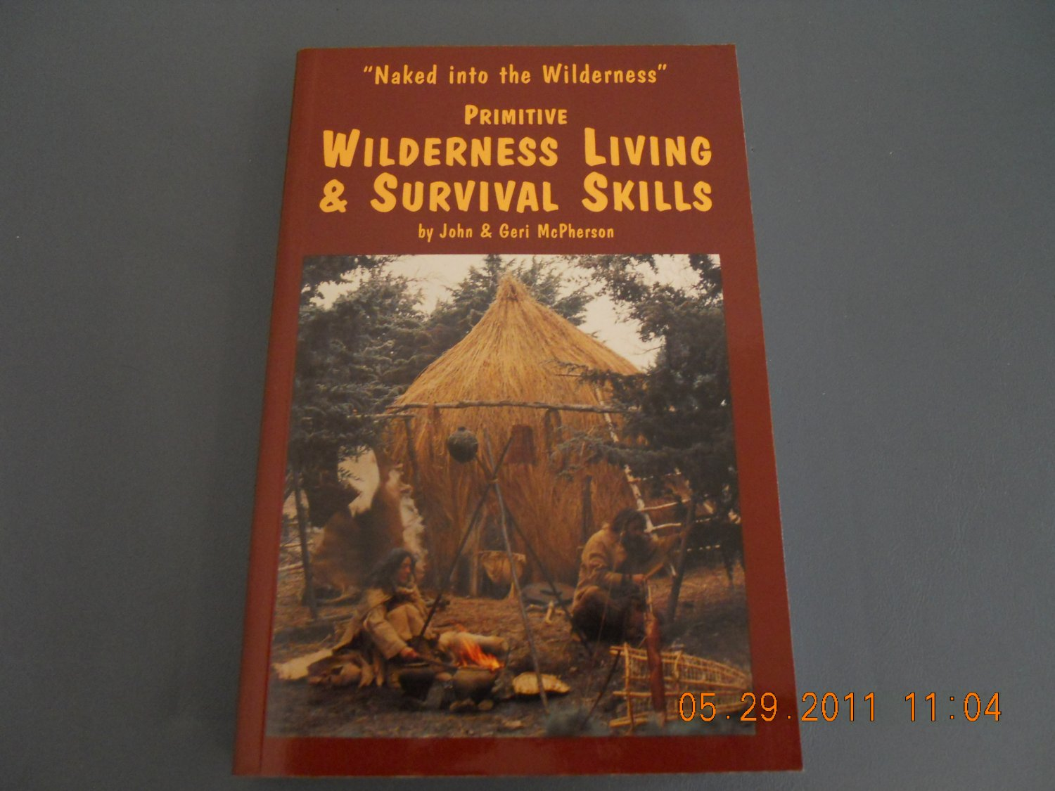 Primitive Wilderness Living & Survival Skills Naked into the Wilderness paperback