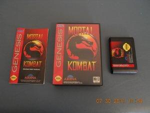 Mortal Kombat - Sega Genesis