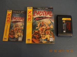 Brutal: Above the Claw - Sega Genesis 32X