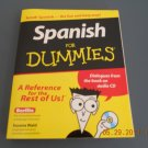 Spanish for Dummies book and audio CD