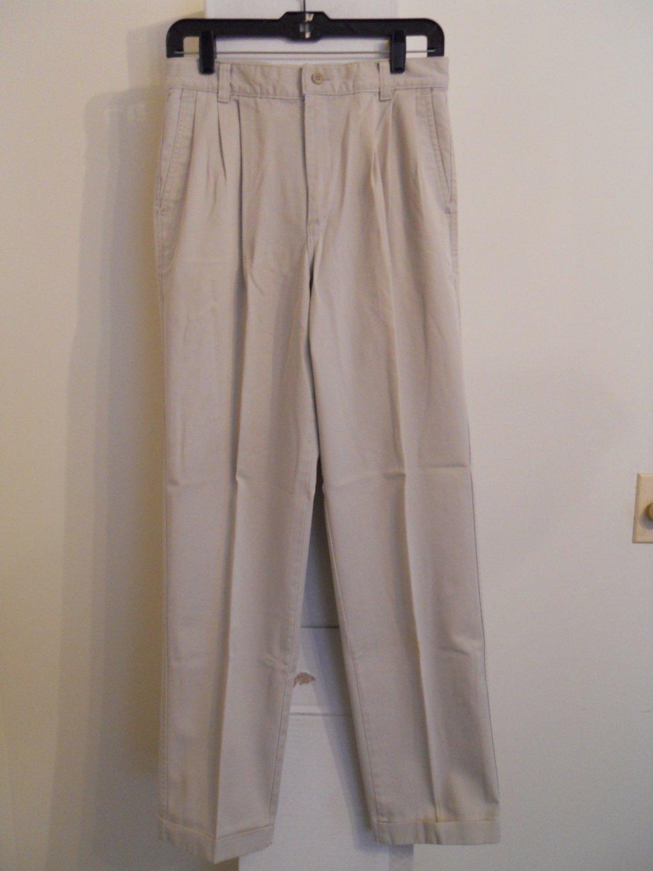 MumsingWear casual dress pants men's 30x32 tan beige