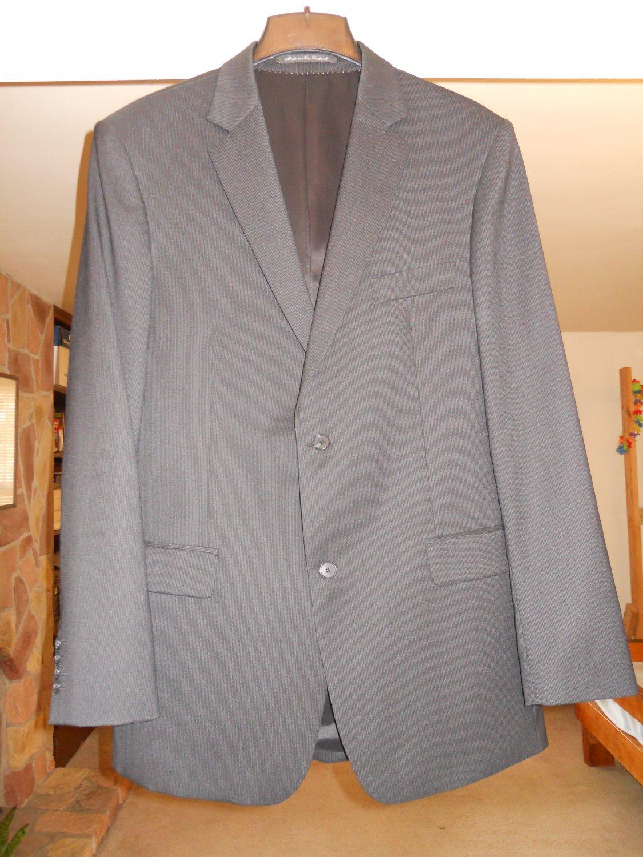 Rembrandt mens suit jacket sport coat black size 104T