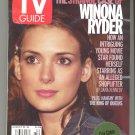 "TV GUIDE august 10 2002 8/10/02 ""THE STRANGE CASE OF WINONA RYDER"""