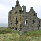 Wall size art 8' x 12' image 16th century castle ruins