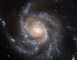 Wall size art 8' x 12' image Messier 101 NGC 5457 pinwheel galaxy