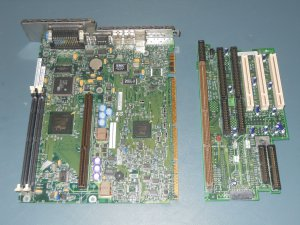 IBM AA 688747-304 SYSTEM BOARD SLOT-1 motherboard