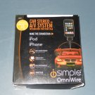 "Isimple IS79 The Easy ""All-in-One"" iPod Interface Cable Car of a/v stereo system"
