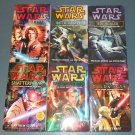 Star Wars Clone Wars novels books book novel lot series 6 paperbacks (a)