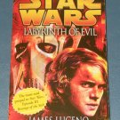 Star Wars Labyrinth of Evil book novel 1st edition paperback by James Luceno (a)
