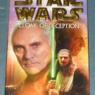 Star Wars Cloak of Deception book novel 1st edition paperback by James Luceno (a)