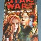 Star Wars Survivor's Quest book novel 1st edition paperback by Timothy Zahn (a)