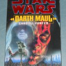 Star Wars Darth Maul Shadow Hunter book novel 1st edition paperback by Micheal Reaves (a)