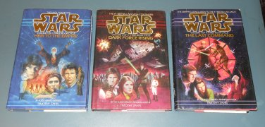 Star Wars Thrawn Trilogy books book novel novels lot series 3 hardbacks (a)