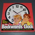 backward backwards clock funny gag joke