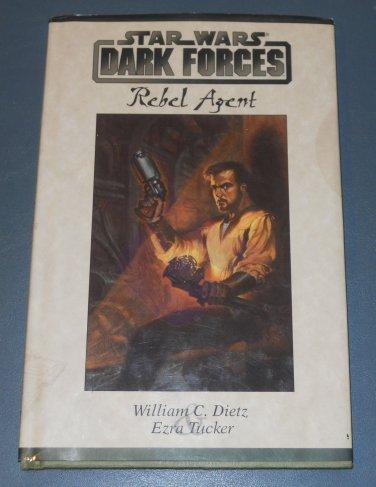 Star Wars Dark Forces Rebel Agent book novel 1st Edition hardcover (a)