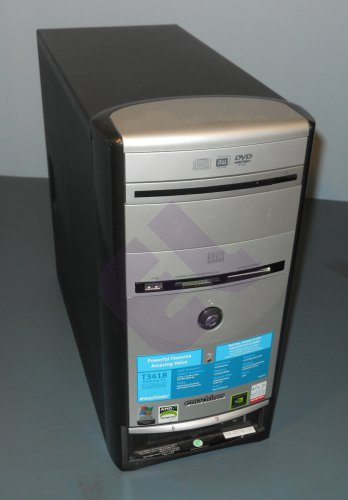 eMachines T3418 desktop tower with Windows XP and Office
