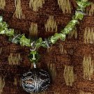 Peridot & Sterling Silver Necklace
