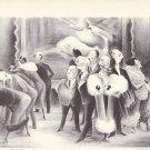 """Vintage Asolf Dehn 1939 Print / Book Plate """"Art Lovers"""""""