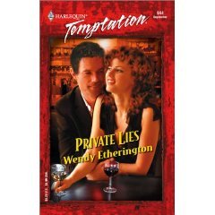 Private Lies by Wendy Etherington - New Paperback Book