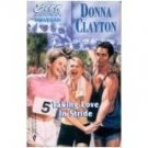 Taking Love In Stride ( Born in the USA, Delaware) by Donna Clayton - Paperback Book