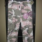 Vintage Pink Camo Size S (8-10) Xtra BLING!