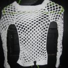 White Net Shirt   **One Size does fit ALL!