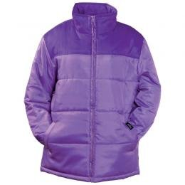 Mountain Purple Polyester Winter Coat (Extra Large)