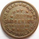 IL700A-1a – R5 - Dehner & Maples, Pontiac, Illinois, Civil War Token