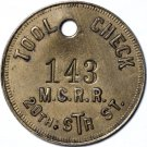 ***Sale Pending***Michigan Central Railroad Tool Check