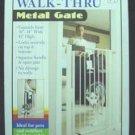 Metal Walk - thru Gate 30 - 34w X 41h