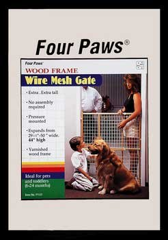 Wood Coated Wire Xtall Gate - 45