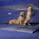 Prec Puppy Pen Chrome 48x48x30