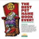 Best Pet Names Book Ii