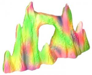 Ceramic Ornament - Fluorescent Rock Pinnacle
