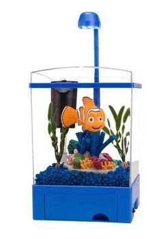 The Finding Nemo Aquarium Kit Featuring Nemo 1.5 Gallon