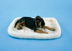 Prec Snoozy Fleece Bed 18x14