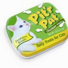 Pitr Pat Cat Candy Tin Display 12pc Chicken Flavor