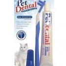 Oral Hygiene Kit W/dual Action Toothbrush Cat/kitten