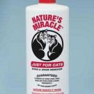 Natures Miracle Just For Cats Stain/odor Remover 32oz