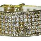 Rhinestone Collar  5-Row Jewels w/Post