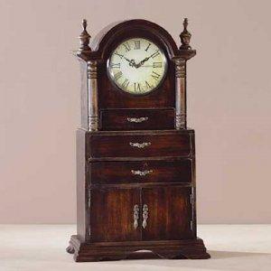 Wood Mantel Clock 34819
