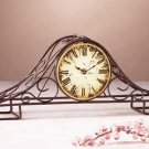 Wire Mantel Clock 31166