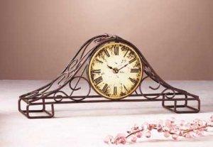 Wire Mantel Clock 31166