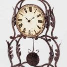Wrought Iron Desk Clock 34266