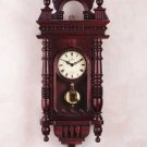 Hand Carved Wall Clock 21260