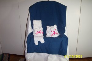 Child's Cat Hat and Scarf